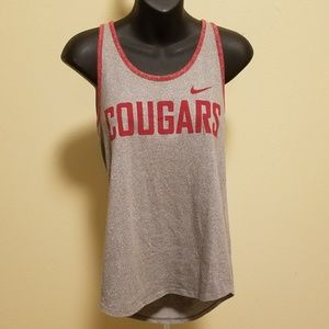 Nike Cougars WSU Racerback Tank Top Medium
